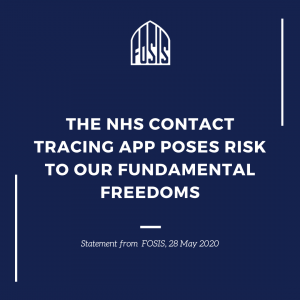 Concerns over NHS Contact tracing app