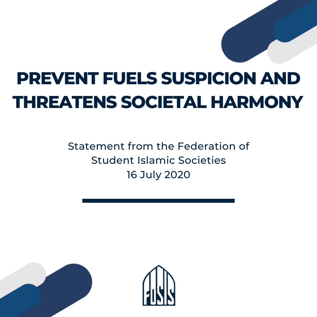 Prevent Fuels Suspicion And Threatens Societal Harmony