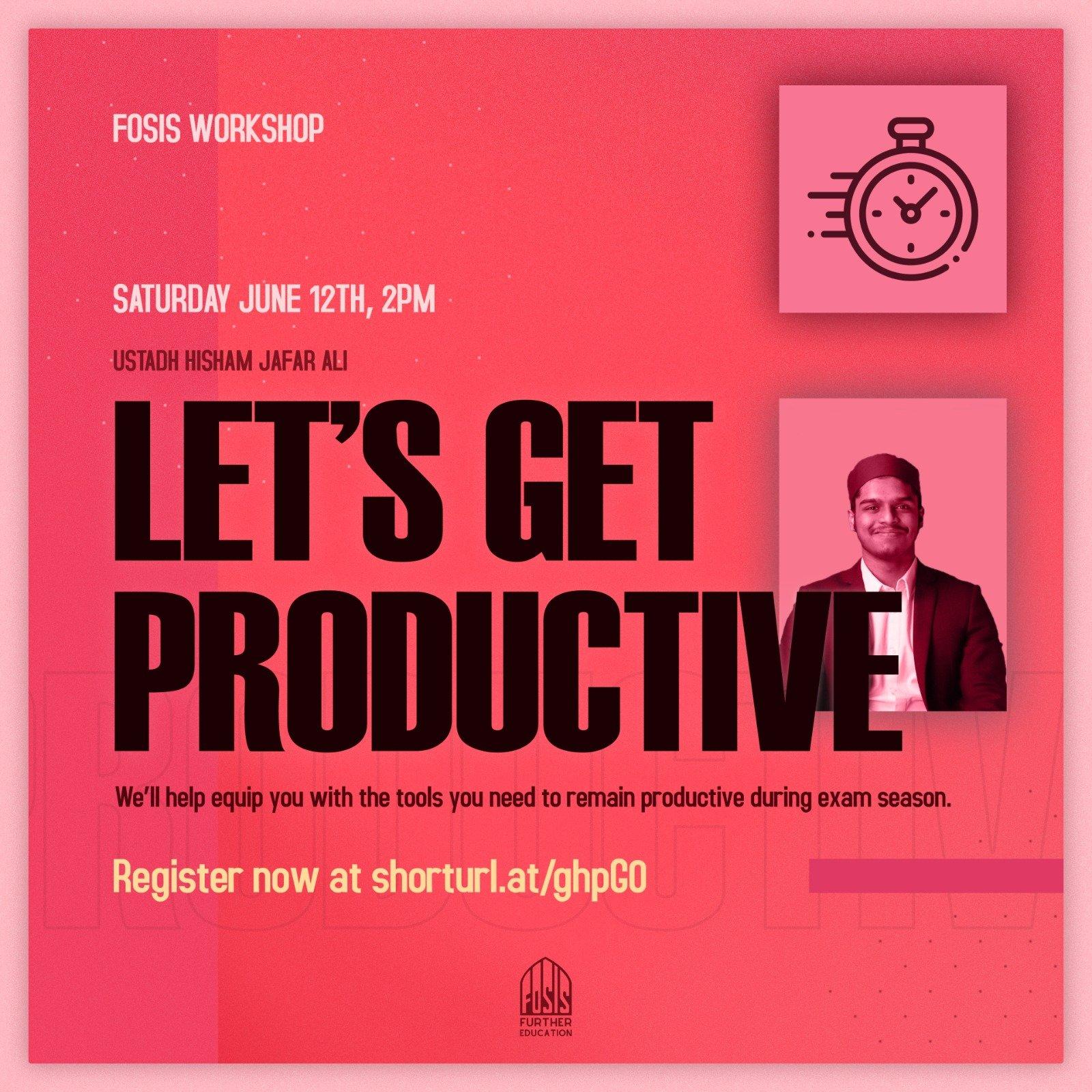 Productivity Workshop